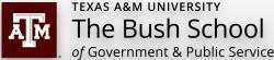 Texas A&M University, International Affairs Department, The Bush School of Government & Public Service